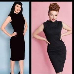 NWT Heartbreaker Super Spy Rockabilly Wiggle Dress